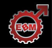 EBM Logo 9 — Stock Vector