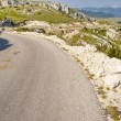 Hairpin route - Montenegro — Stock Photo