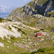 Two cottage - Durmitor, Montenegro — Stock Photo
