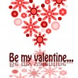 Royalty-Free Stock Vector Image: Be my valentine - beauty illustration