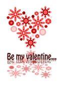 Be my valentine - beauty illustration — Stock Vector