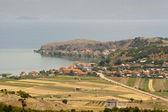 View on Ohridsko lake - Macedonia — Stock Photo