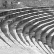 Old amphitheater in Ohrid — Stock Photo