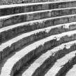 steps of old amphitheater - ohrid — Stock Photo