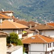Red roofs - Ohrid town. — Stock Photo
