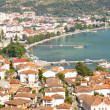 Aerial view on Ohrid — 图库照片