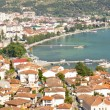 Aerial view on Ohrid — Stock Photo