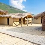 Museo en el agua - ohrid, macedonia — Foto de Stock