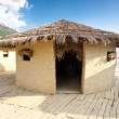 Prehistoric village near Ohrid town - museum. — Stock Photo #8387000