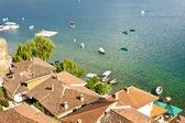 Coast of Ohridsko lake — Stock Photo