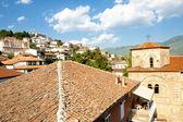 St. Sofia church and Ohrid town. — Stock Photo