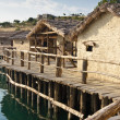 Museum on the water - Ohrid. — 图库照片