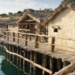 Museum on the water - Ohrid. — Stock Photo