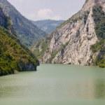 Drina river - Bosnia and Herzegovina — Stock Photo