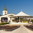 Stock Photo: View on church in Medugorje