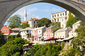 View on coast of Mostar. — Stock Photo