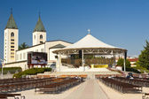 View on church in Medugorje — Stock Photo