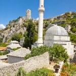 Mosque in Pocitelj, Bosnia and Herzegovina — Stock Photo