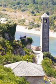 Clock tower in Pocitelj — Stock Photo