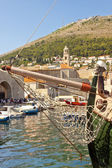 View on marina in Dubrovnik — Stock Photo