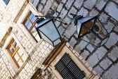 Street lamp in Dubrovnik. — Stock Photo