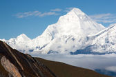 Dhaulagiri from thorung la pass — Stock Photo