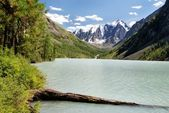 Savlo or szavlo valley in altai range — Stock Photo