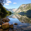 Bohinj lake in Triglav national park Slovenia — Stock Photo #9631805