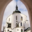 Pilgrimage church zelena hora - green hill - monument unesco — Stock Photo