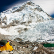 acampamento base do Everest — Foto Stock
