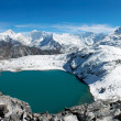 View from kongma la pass - sagarmatha national park - Nepal — Stock Photo