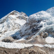 Ice-fall khumbu from everest b.c. — Stock Photo #9632923