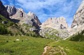 View of southern side of marmolada — Stock Photo