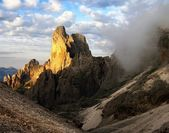 Cima della madonna in pale di san martino — Stock Photo