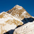 Evening view of Everest and Nuptse from Kala Patthar — Stock Photo #9658316