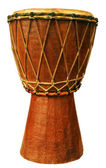 Traditional djembe — 图库照片