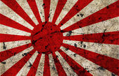 Japan dirty old grunge flag — Stock Photo
