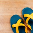 Stock Photo: Colorful sandal