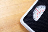 Analog weight scale isolated — Stock Photo