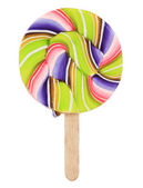 Retro style colorful lollipop — Stock Photo
