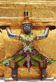 Ramayana figure at Wat prakaew temple , Thailand — Stok fotoğraf