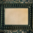Frame on an old wall — Stock Photo