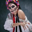 Day of the Dead  in Ukrainian style — Stock Photo