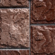 Abstract brown tile textutre - Stockfoto