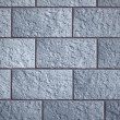 Blue brick wall texture — Stock Photo
