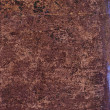 Grunge brown wall macro texture — Stockfoto