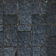 Dark gray tile wall texture background — Stock Photo