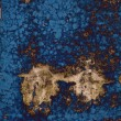 Huge blue abstract grunge texture - 图库照片
