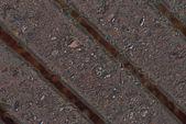 Sten randig brun grunge konsistens bakgrund — Stockfoto