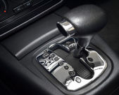 Automatic gear shift — Stock Photo